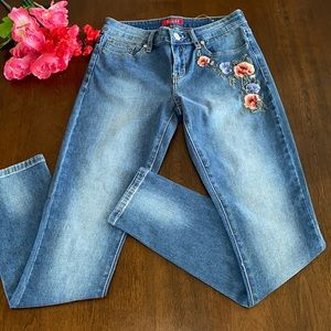 Guess Floral Jeans 💐